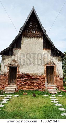 300 Year Old Church That Morning Khok Phai, Nakhon Ratchasima, Thailand