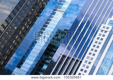 Chicago Skyscrapers Abstract