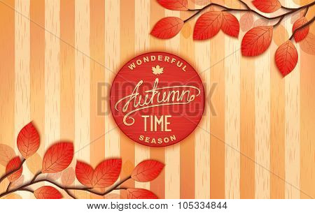 Autumn - wonderful time