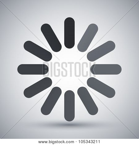 Loading Icon, Vector