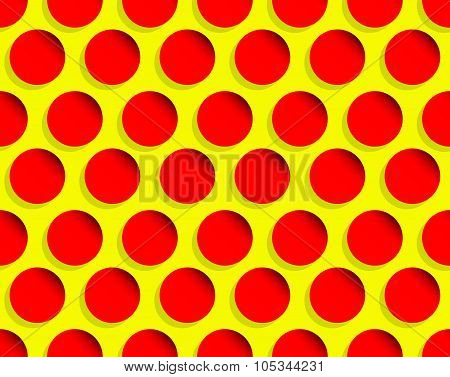 Dotted Pop Art Like Background, Pattern. Seamlessly Repeatable.