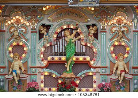 Old Fashioned Music Organ