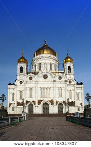 Cathedral of Christ the Savior in Moscow Russia