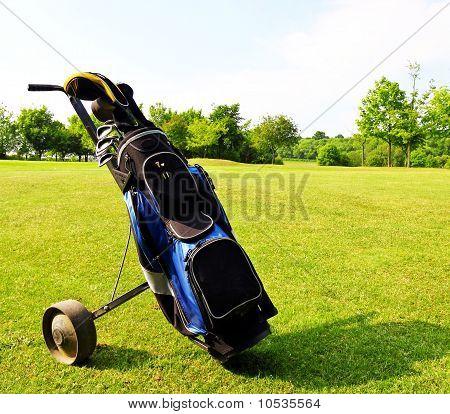 Equipamento de golfe