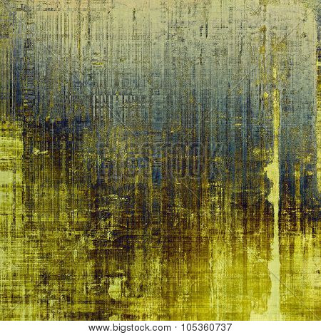 Designed grunge texture or background. With different color patterns: yellow (beige); brown; blue; gray