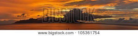 Sunset Over Island Of Brava