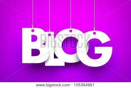 The team maintains a blog - metaphor
