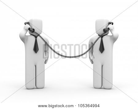 Business negotiations or search for business partner
