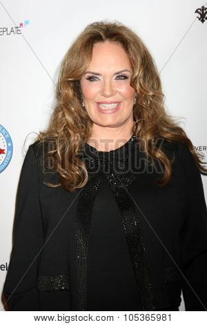 LOS ANGELES - OCT 17:  Catherine Bach at the  LAPD Eagle & Badge Foundation Gala at the Century Plaza Hotel on October 17, 2015 in Century City, CA