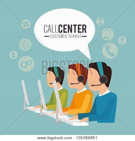 Call center and technical support