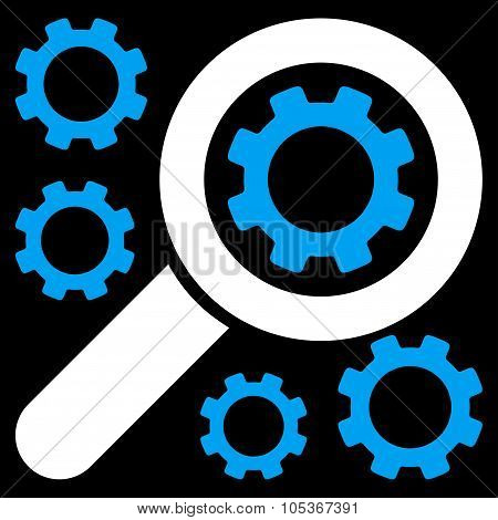 Search Tools Flat Icon