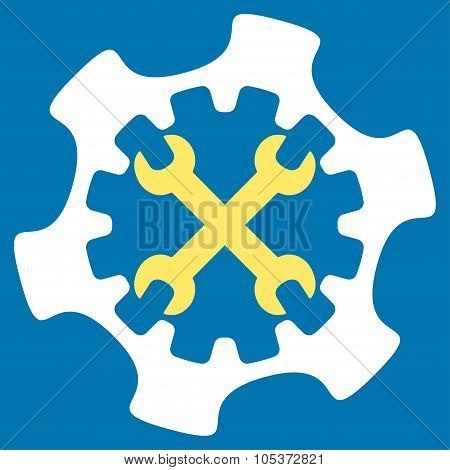 Service Tools Flat Icon