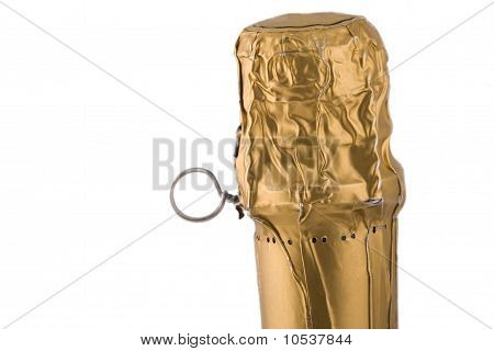 Golden Cork From Luxury Champagne