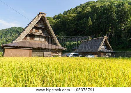 Gassho Zukuri (Gassho-style) Houses in Gokayama