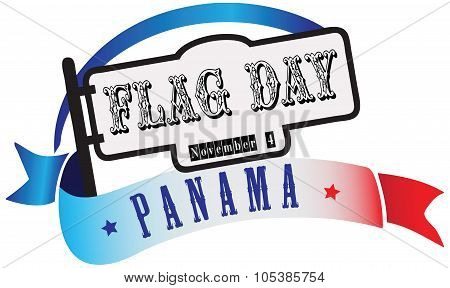 State Flag Day Panama