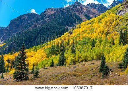 Colorado Fall Foliage Conundrum Hot Springs Trail
