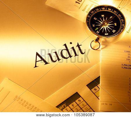 Budget, Calendar, Compass And Audit