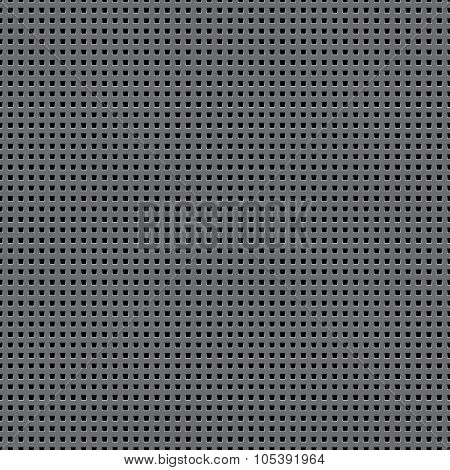 Black Surface Perforated
