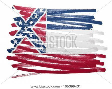 Flag Illustration - Mississippi