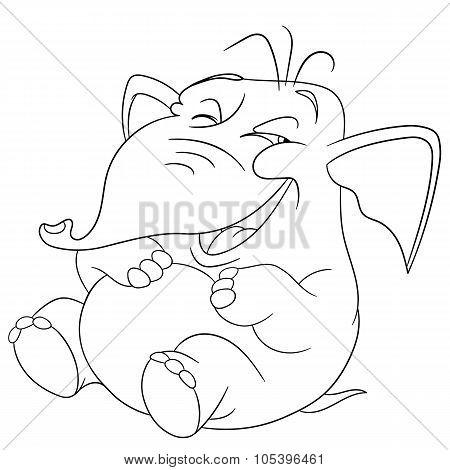 Cute Funny Elephant