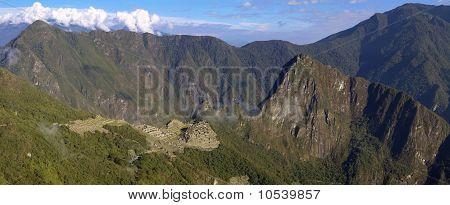 Machu Picchu From Sungate Inti Punku