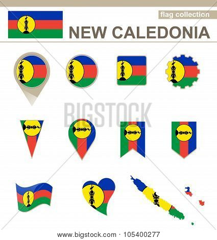 New Caledonia Flag Collection