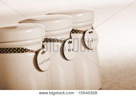 Frascos de bebidas