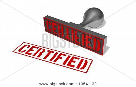 rubberstamp certified