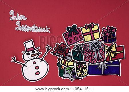 Xmas Decorations Greeting
