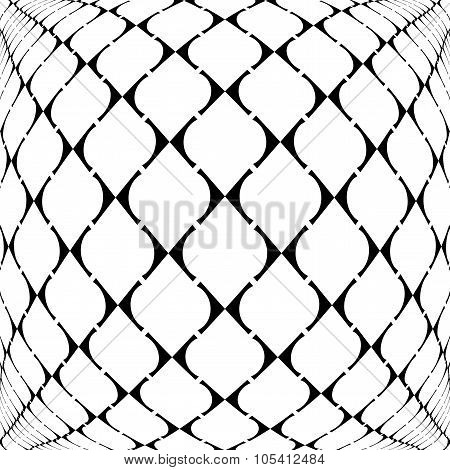 Design Warped Grid Geometric Pattern