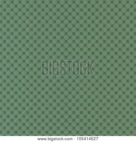 Big green capitone panel