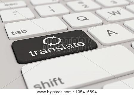 Keyboard - Translate - Black