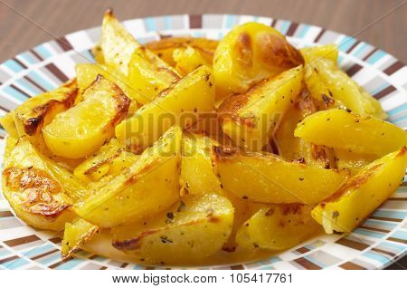 French Fries Potato Slices
