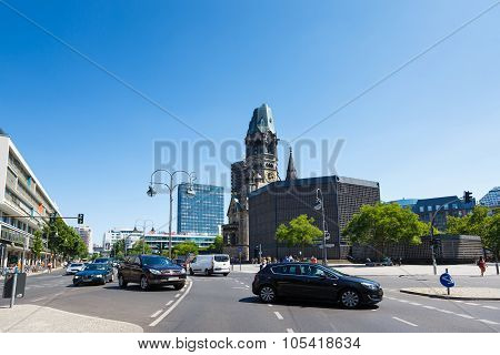 Church Of The Kaiser Wilhelm In Berlin