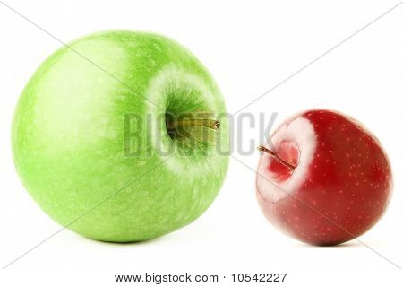 Big And Small Apple