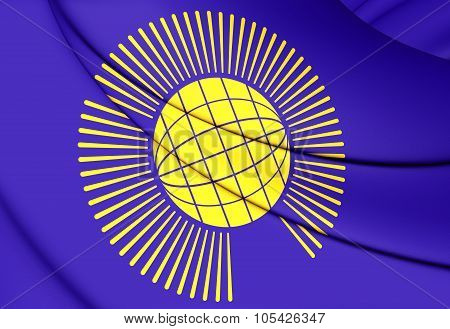 Commonwealth Of Nations Flag