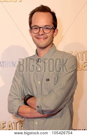 LOS ANGELES- OCT 17: Neil Grayston arrives at the