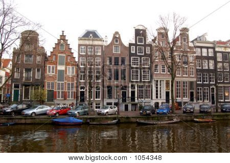 Amsterdam Canal Houses 2