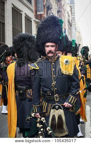 Saint Patricks Day Parade Costume