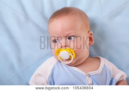 Baby Sucking Nipple