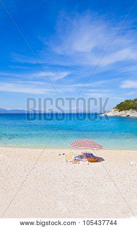Vacation Spot On Beach
