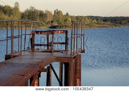 Iron river bridge
