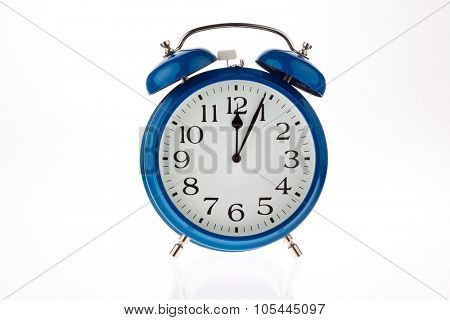 11:55 on a clock. time for decisions