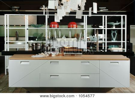 Kitchen Of Modern Design