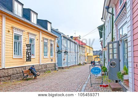 Porvoo. Finland. The Old Town