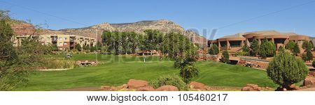 A View Of The Sedona Golf Resort