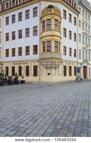 Heinrich Schuetz Residenz Detail