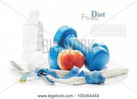 The Concept Of  Healthy Lifestyle, Diet, Sports