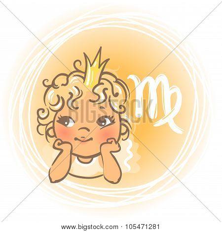 Baby zodiac Virgo