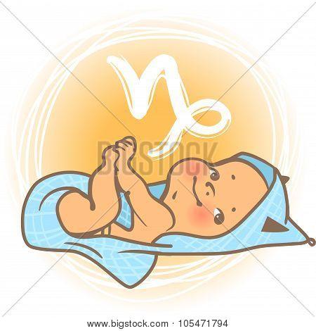 Baby zodiac  Capricorn